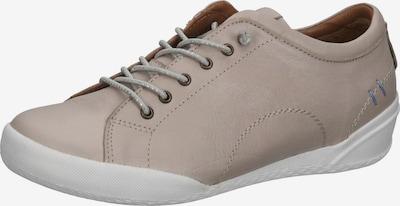 COSMOS COMFORT Chaussure de sport à lacets en taupe, Vue avec produit