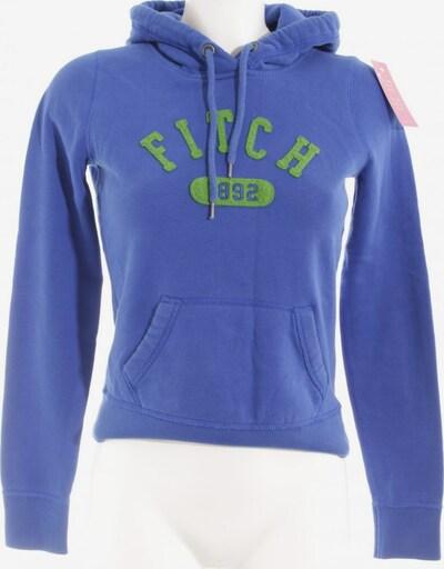 Abercrombie & Fitch Kapuzensweatshirt in XS in blau / grasgrün, Produktansicht
