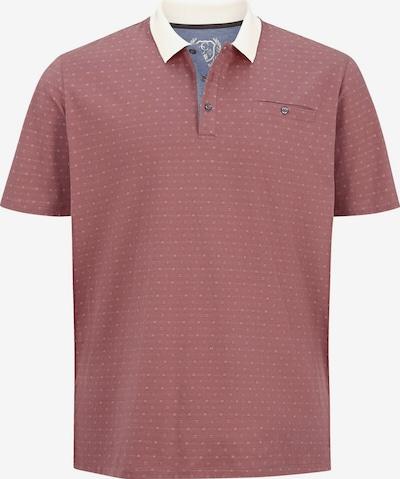 Charles Colby Shirt 'Earl Mike' in de kleur Crème / Watermeloen rood / Wit, Productweergave