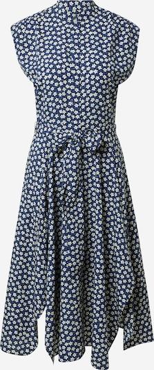 Lauren Ralph Lauren Košulja haljina 'KRUTIE' u mornarsko plava / kraljevsko plava / bijela, Pregled proizvoda