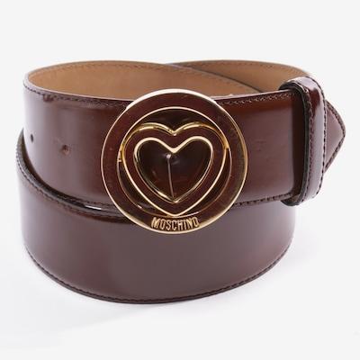 MOSCHINO Belt in XL in Cognac, Item view