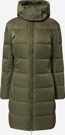 HUGO Pitkä talvitakki 'Fleuris-1' värissä oliivi, Tuotenäkymä