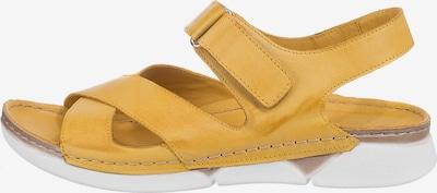 ANDREA CONTI Sandale in gelb, Produktansicht