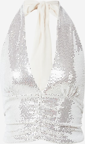 Gina Tricot Top in Zilver