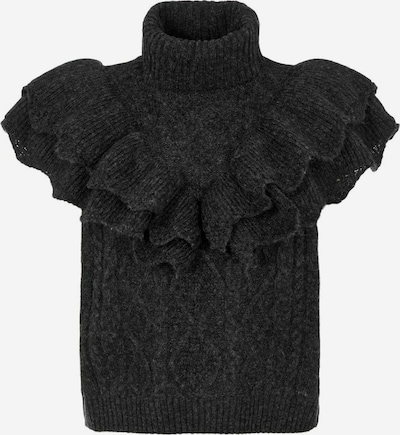 Y.A.S Pullover 'Schoko' in anthrazit, Produktansicht