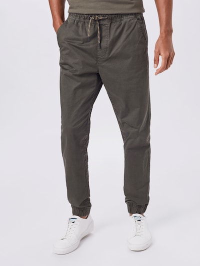 Pantaloni BLEND di colore verde scuro, Visualizzazione modelli