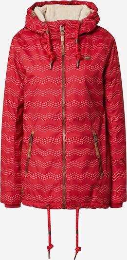 Ragwear Veste fonctionnelle 'Zuzka' en rouge, Vue avec produit