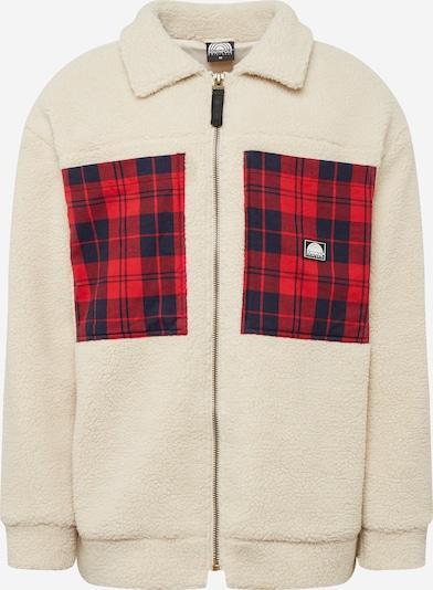 SOUTHPOLE Přechodná bunda - béžová / tmavě modrá / tmavě červená, Produkt