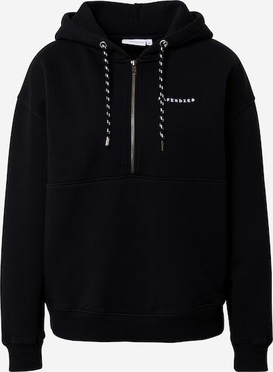 Hafendieb Sweatshirt in schwarz / weiß, Produktansicht