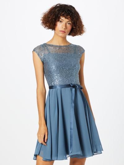 SWING Cocktailjurk in de kleur Smoky blue, Modelweergave
