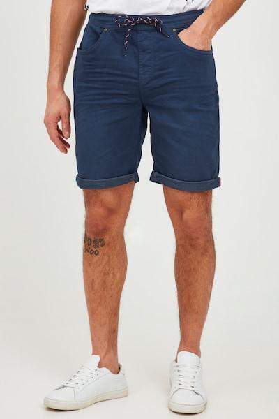 BLEND Shorts in nachtblau, Modelansicht