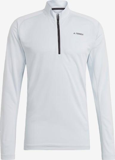 adidas Terrex Funktionsshirt 'Trace Rocker' in azur / schwarz, Produktansicht