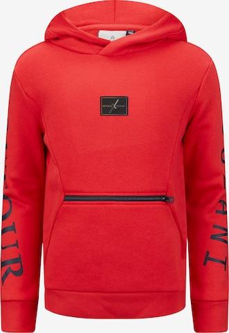 Retour Jeans Sweatshirt 'Pildriver' in Rot