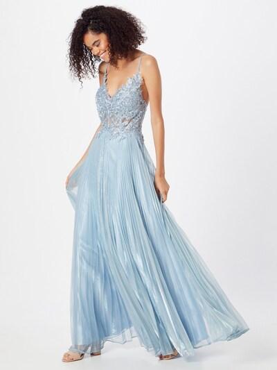 Rochie de seară LUXUAR pe albastru deschis, Vizualizare model