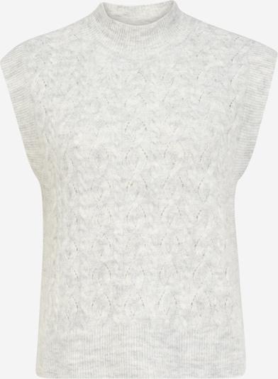 Y.A.S Petite Pullover 'NADIA' in hellgrau, Produktansicht