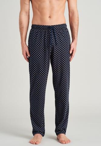 SCHIESSER Pidžaamapüksid 'Selected', värv sinine