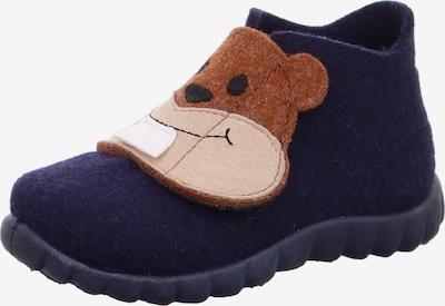 Papuci de casă 'HAPPY' SUPERFIT pe culoarea pielii / bleumarin / maro / alb, Vizualizare produs