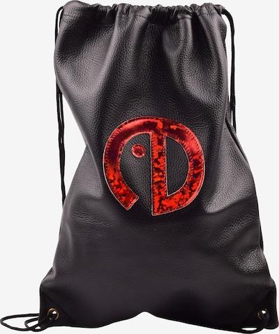 ebarrito Buideltas 'WORKOUT BAG' in de kleur Rood / Zwart, Productweergave