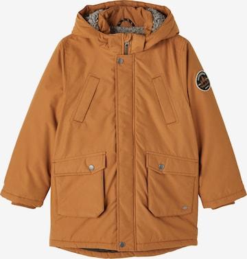 NAME IT Between-season jacket 'Miller' in Brown