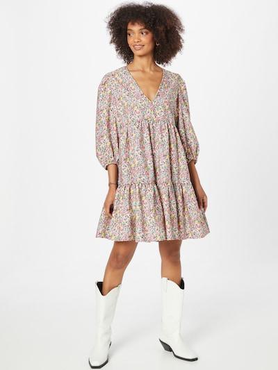 Rochie tip bluză NEW LOOK pe galben / verde pastel / roz / negru, Vizualizare model