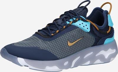 tengerészkék / türkiz / barna / sötétszürke Nike Sportswear Rövid szárú edzőcipők 'React Live', Termék nézet