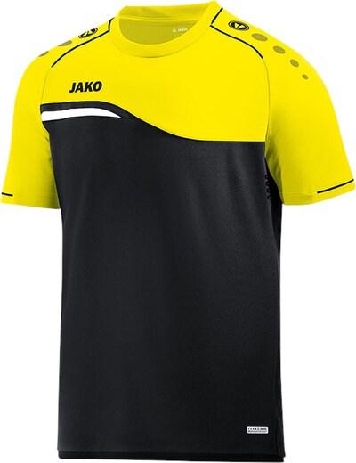 JAKO T-Shirt in gelb / schwarz, Produktansicht