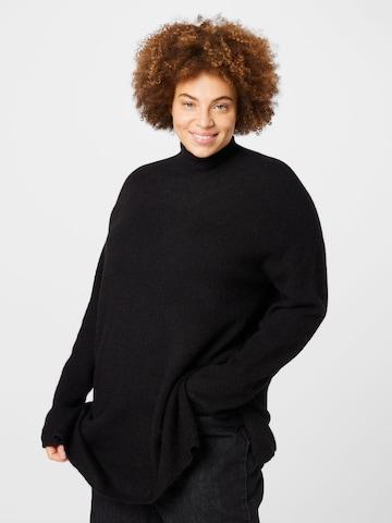 Vero Moda Curve Bluse in Schwarz