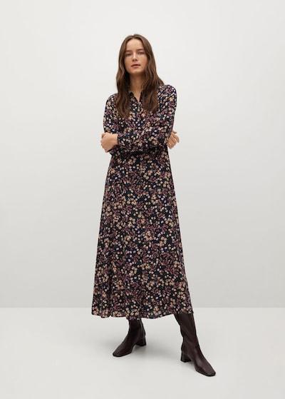 MANGO Kleid 'North' in mischfarben, Modelansicht