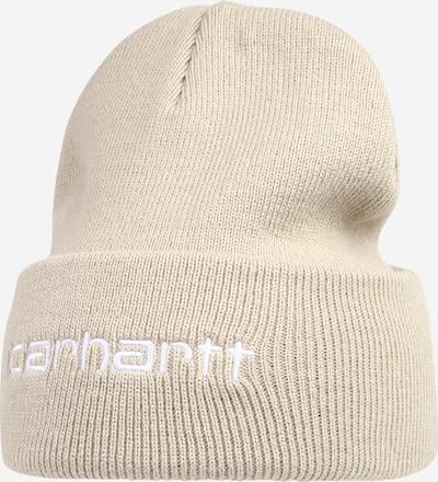 Carhartt WIP Mütze 'Script' in beige / weiß, Produktansicht