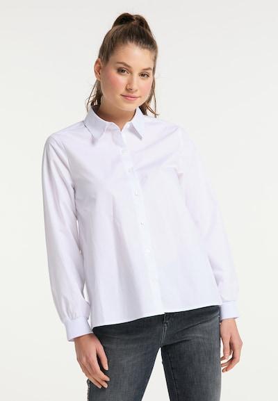 MYMO Bluse in offwhite, Modelansicht