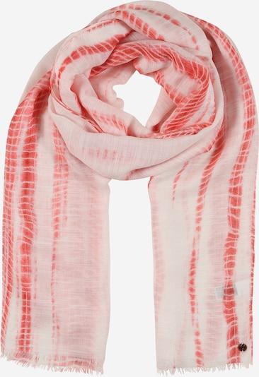 ESPRIT Sjaal in de kleur Koraal / Wit, Productweergave