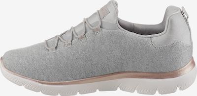 SKECHERS Sneaker in graumeliert / rosé / weiß, Produktansicht