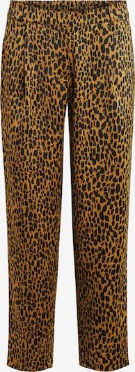 VILA Pantalon 'MAHLA' en marron / noir, Vue avec produit