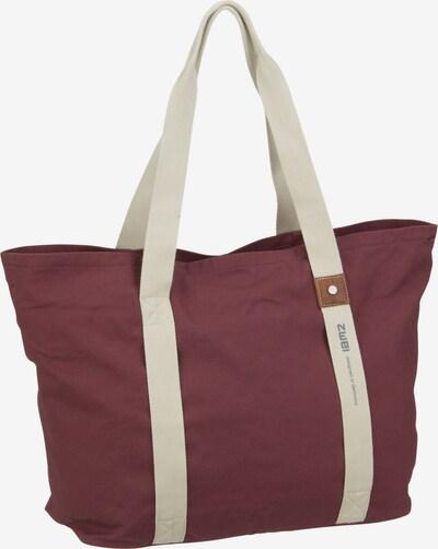 ZWEI Reisetasche in beige / bordeaux, Produktansicht