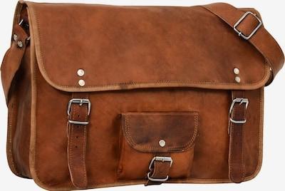 Gusti Leder Messenger Bag 'Gusti Leder Alex 15' in braun, Produktansicht