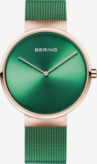 BERING Uhr in gold / grün, Produktansicht