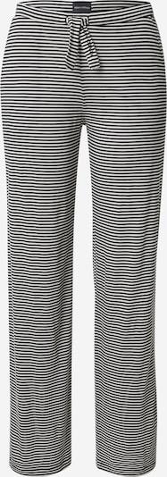 Marc O'Polo Pyjamabroek in de kleur Zwart / Natuurwit, Productweergave