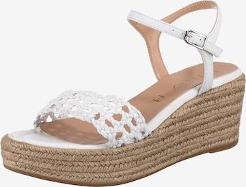 UNISA Sandalette 'Kayto' in Weiß