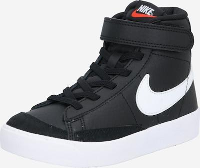 Nike Sportswear Baskets 'Blazer 77' en noir / blanc, Vue avec produit