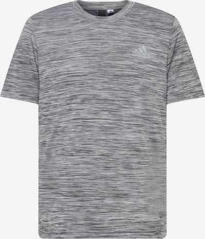 ADIDAS PERFORMANCE Sportshirt in graumeliert / weiß, Produktansicht