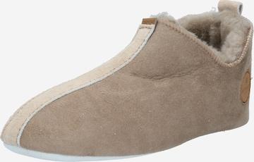 SHEPHERD Slippers 'LINA' in Beige