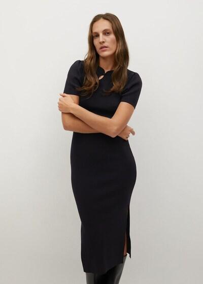 MANGO Kleid 'Asia' in schwarz, Modelansicht