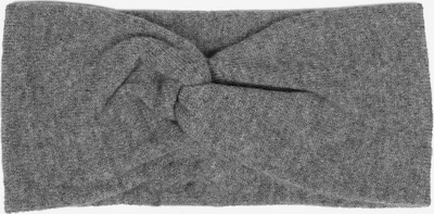 Zwillingsherz Stirnband in dunkelgrau, Produktansicht