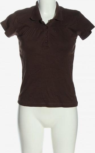 FLASHLIGHTS Polo-Shirt in S in braun, Produktansicht