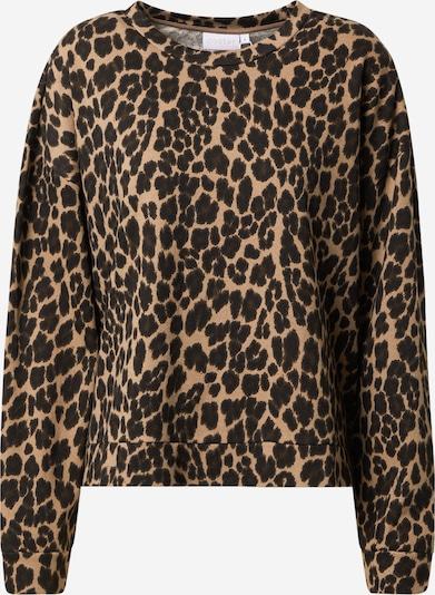 Coster Copenhagen Sweatshirt in braun / hellbraun / schwarz, Produktansicht
