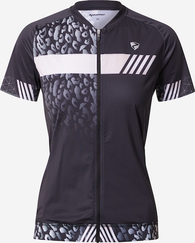 Tricou funcțional 'NADERA' ZIENER pe negru, Vizualizare produs