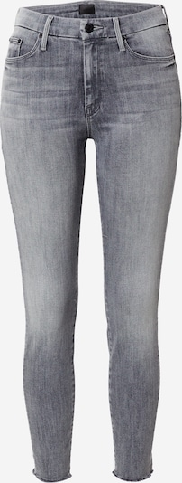 MOTHER Jean 'The Looker Ankle Fray' en gris denim, Vue avec produit