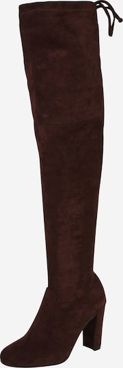 ABOUT YOU Over the Knee Boots 'Liya' in Chocolate, Item view