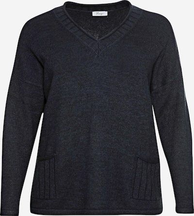 SHEEGO Pullover in nachtblau, Produktansicht
