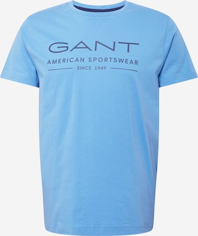 Tricou GANT pe albastru deschis / albastru violet, Vizualizare produs